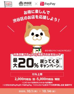 PayPay渋谷区キャンペーン